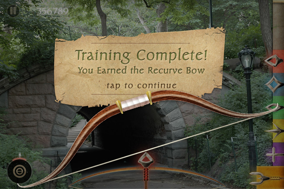 Screenshot Ranger's Apprentice Archery Training